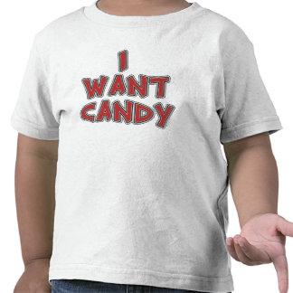 I Want Candy Tee Shirts