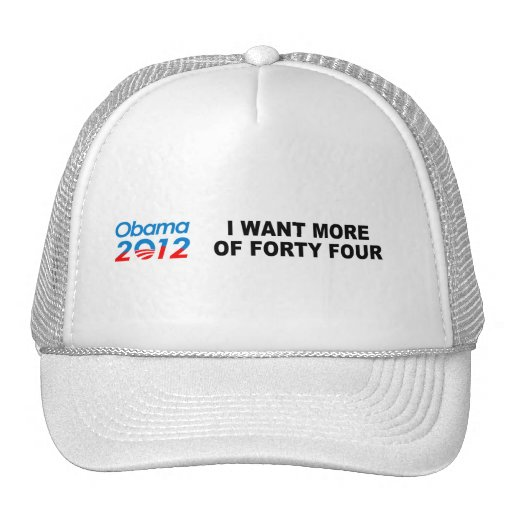 I WANT MORE OF FORTY FOUR MESH HAT