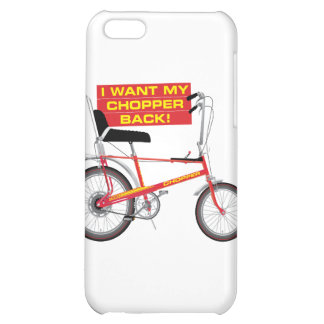 I want my chopper back cover for iPhone 5C