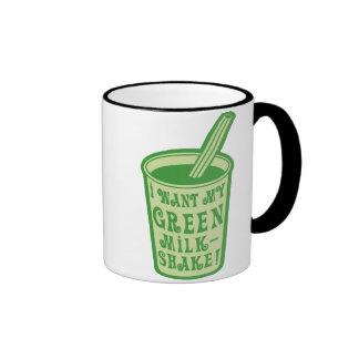 I Want My Green Milkshake T-shirts Coffee Mug