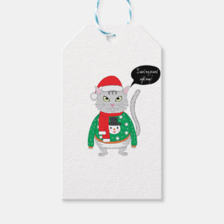 I want my present right may gift tags