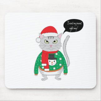 I want my present right may mouse pad