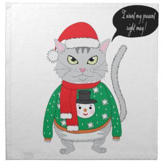 I want my present right may napkin