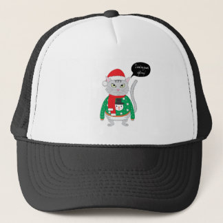 I want my present right may trucker hat