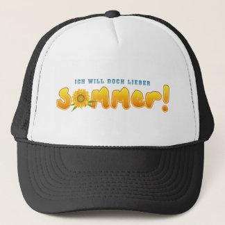 I want nevertheless dear summer trucker hat