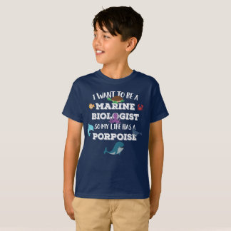 I want to be a Marine Biologist T-Shirt