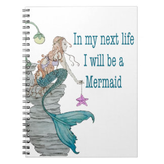I want to be a Mermaid Notebook