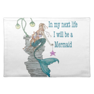 I want to be a Mermaid Placemat