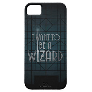 I Want To Be A Wizard iPhone 5 Cases
