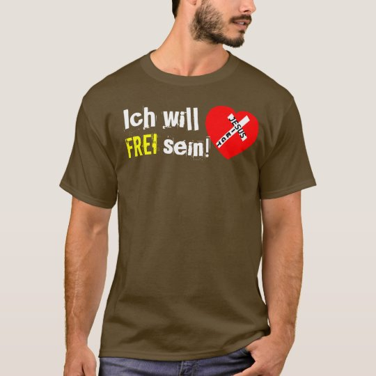 I want to be FREE! - Triumphs to Jesus T-Shirt