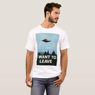 I want to Be-leave funny variation on famous movie T-Shirt