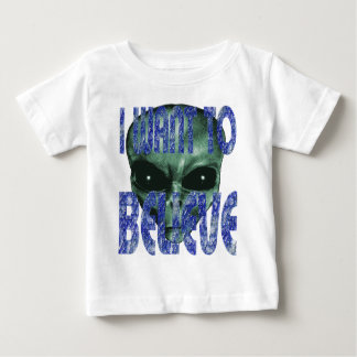 I Want To Believe 2 Baby T-Shirt