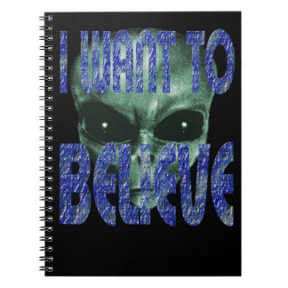 I Want To Believe 2 Spiral Notebook