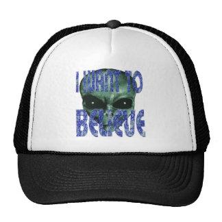 I Want To Believe 2 Trucker Hat