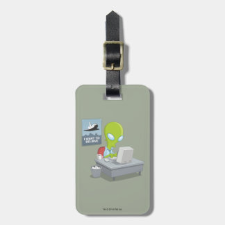 I Want To Believe Bag Tag