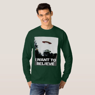 I Want To Believe Classic Mod, Men's LS Shirt