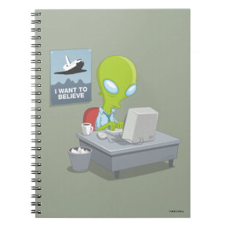 I Want To Believe Notebook