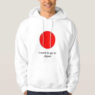 I want to go to Japan Hooded Sweatshirt