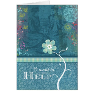 I Want to Help Card