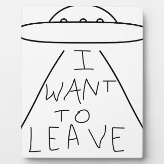 i want to leave plaque