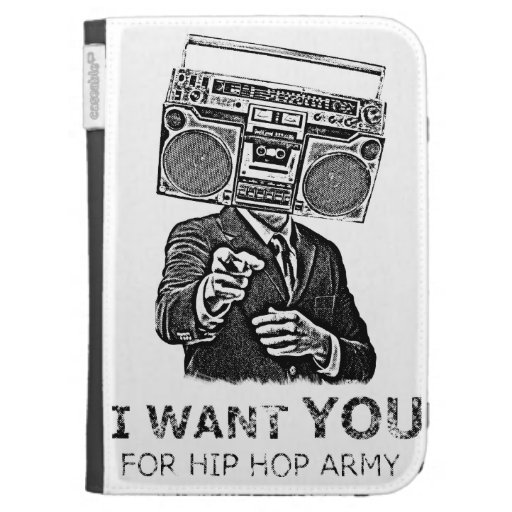 I want you for hip-hop army case for the kindle