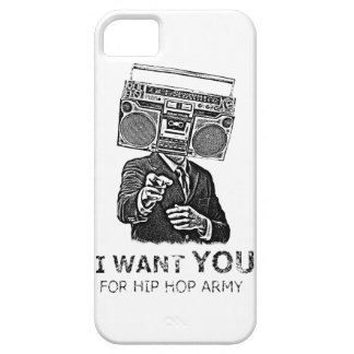 I want you for hip-hop army iPhone 5 cases