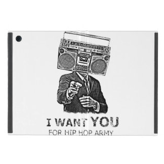 I want you for hip-hop army cases for iPad mini