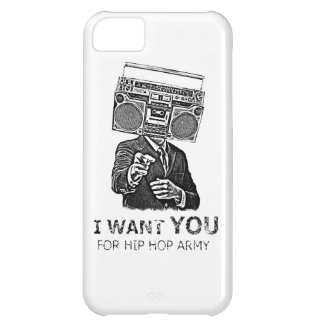 I want you for hip-hop army iPhone 5C cases