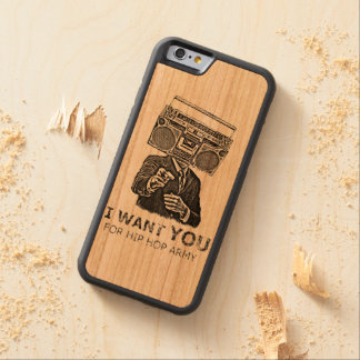 I want you for hip-hop army carved® cherry iPhone 6 bumper case