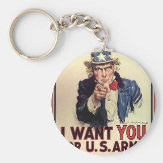 I want you key chain