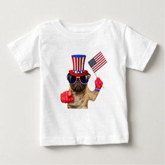 I want you ,pug ,uncle sam dog, baby T-Shirt