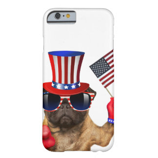 I want you ,pug ,uncle sam dog, barely there iPhone 6 case