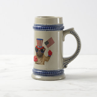 I want you ,pug ,uncle sam dog, beer stein