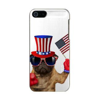 I want you ,pug ,uncle sam dog, incipio feather® shine iPhone 5 case