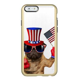 I want you ,pug ,uncle sam dog, incipio feather® shine iPhone 6 case