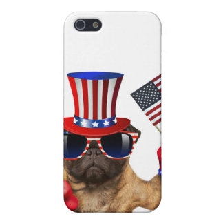 I want you ,pug ,uncle sam dog, iPhone 5 cover