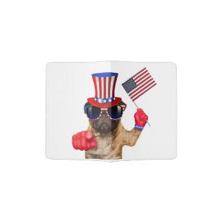 I want you ,pug ,uncle sam dog, passport holder
