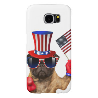 I want you ,pug ,uncle sam dog, samsung galaxy s6 cases