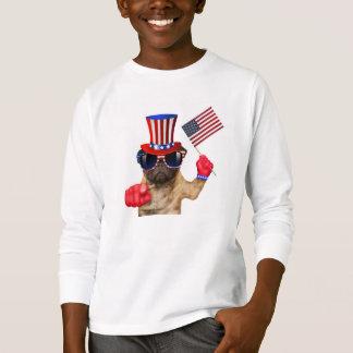 I want you ,pug ,uncle sam dog, T-Shirt