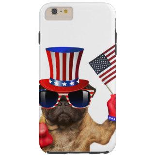 I want you ,pug ,uncle sam dog, tough iPhone 6 plus case