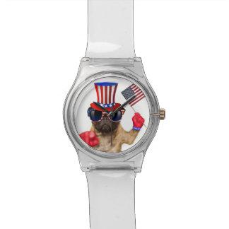 I want you ,pug ,uncle sam dog, watch