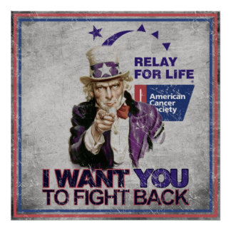 I want you to fight Back Poster