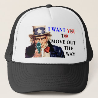 I WANT YOU TO MOVE KOOK TRUCKER HAT