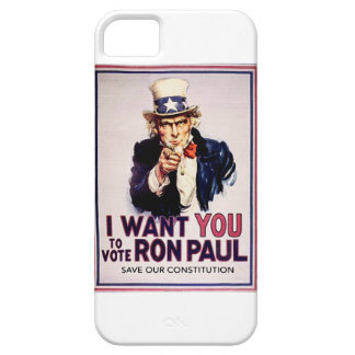 I Want You To Vote For Ron Paul Revolution iPhone 5 Cases
