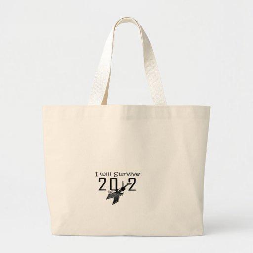 I wants Survive 2012 Canvas Bags