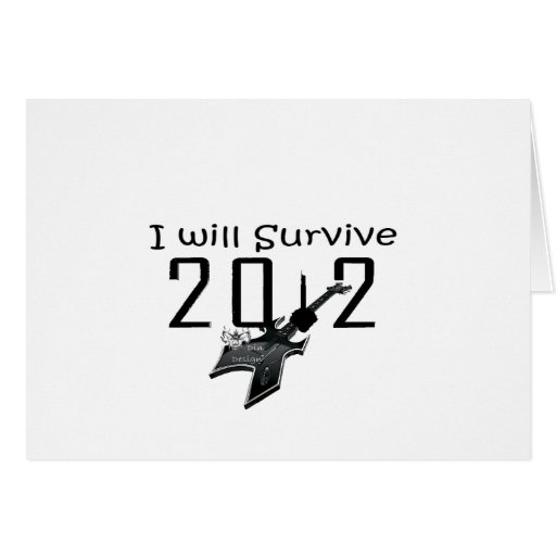 I wants Survive 2012 Cards