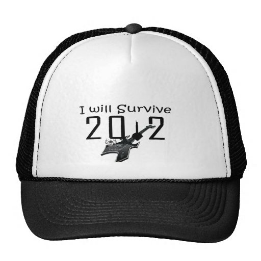 I wants Survive 2012 Mesh Hats