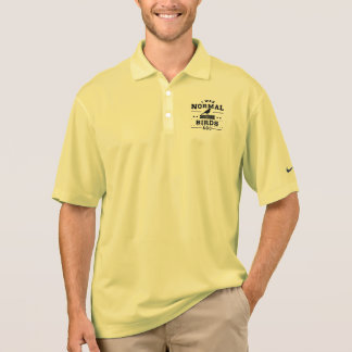 I Was Normal Three Birds Ago Polo Shirt