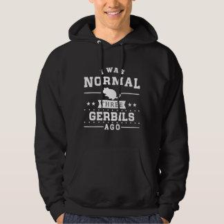 I Was Normal Three Gerbils Ago Hoodie