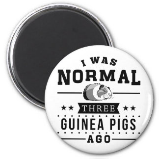 I Was Normal Three Guinea Pigs Ago Magnet